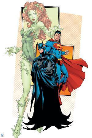 Justice League: Batman, Superman, and Poison Ivy
