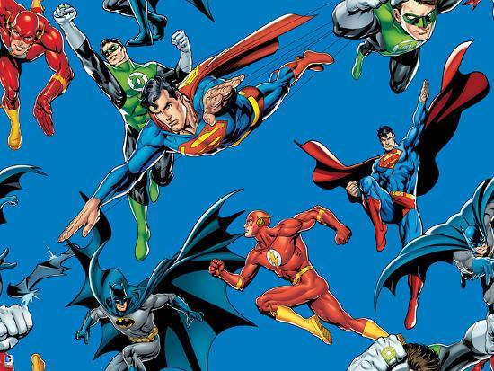 Justice League Superman Batman Green Lantern Flash Wallpaper