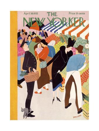 The New Yorker Cover - April 30, 1932