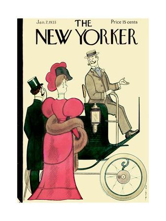 The New Yorker Cover - January 7, 1933