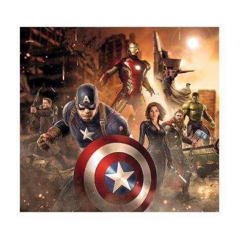 Marvel Avengers Age Of Ultron /> Iron Man /> Captain America /> Thor /> Poster//Print