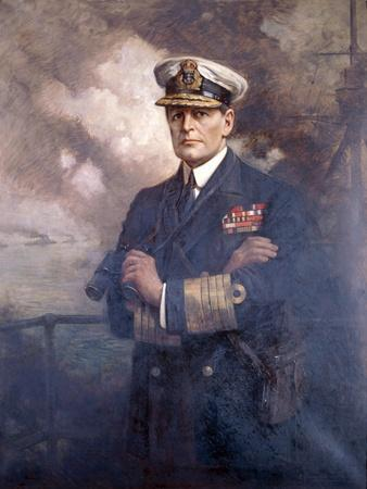 Admiral of the Fleet, the Earl Beatty, 1920