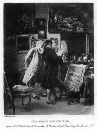 The Print Collector, 1908-1909