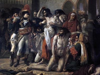 Napoleon Bonaparte Visiting the Plague Stricken of Jaffa, 11th March 1799, 1804