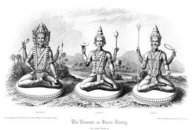 The Trimurti or Hindu Trinity