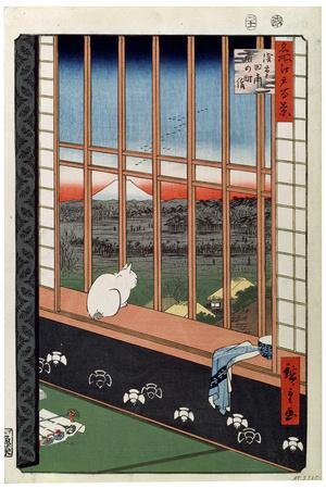 A Cat Sitting on the Window Seat, 19th Century