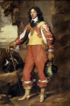 Portrait of Sir Thomas Wharton, 1639
