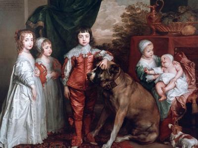 The Five Eldest Children of Charles I,1637