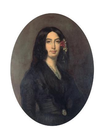 George Sand, French Novelist and Early Feminist, C1845