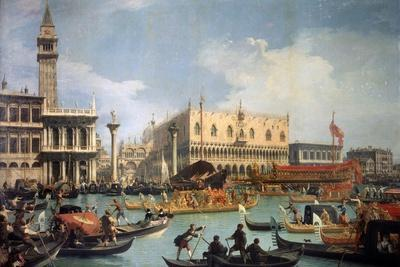 Buccentoro's Return to the Pier at the Doges' Palace, 1730S