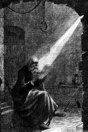 Jan Huss, Heretical Bohemian Theologian, 1866