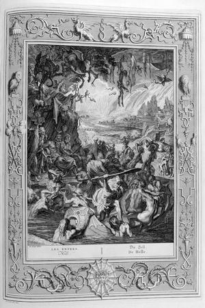 Scene of Hell, 1733