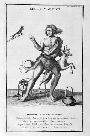 A Representation of March, 1757