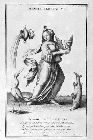 A Representation of February, 1757