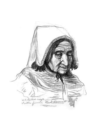 Study of an Old Woman's Head, 1899