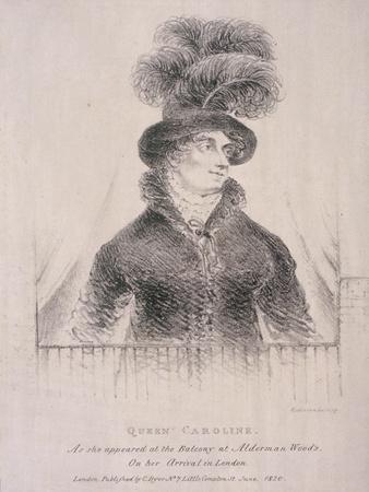 Caroline, Consort of George Iv, 1820