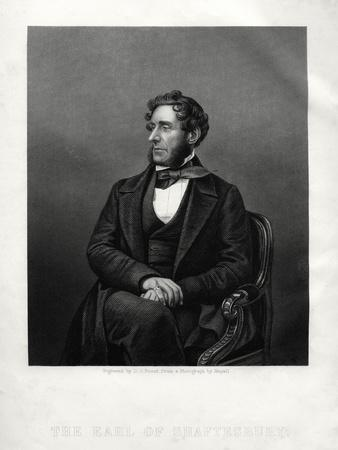 Anthony Ashley Cooper, 7th Earl of Shaftesbury, English Philanthropist, C1880