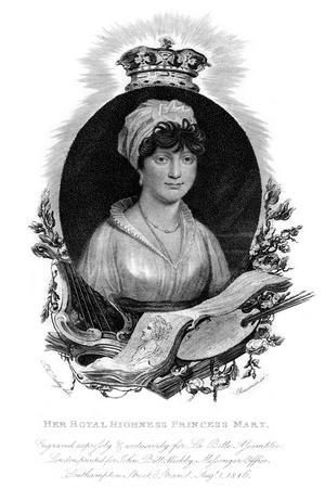 Her Royal Highness the Princess Mary, 1816