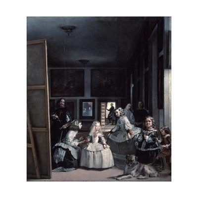 Las Meninas' or 'The Family of Philip Iv, 1656-1657