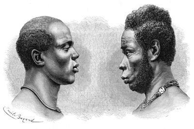 Two Men from French Guinea, C1850-1890