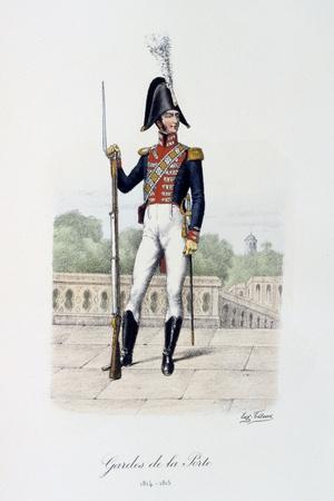 Gardes De La Porte, 1814-15
