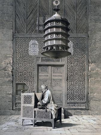 Tomb Door, Mosque of Sultan Barquq, 19th Century