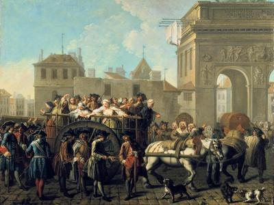 Transport of Prostitutes to the Salpetriere, C1760-1770