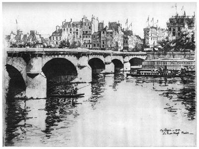 Pont Neuf, C1870-1930