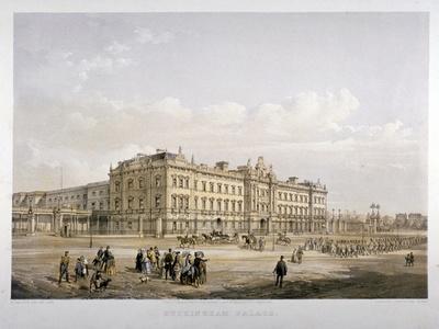 Buckingham Palace, London, 1852