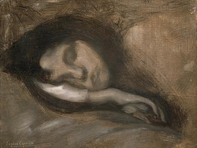 Head of a Sleeping Woman, 19th or Early 20th Century