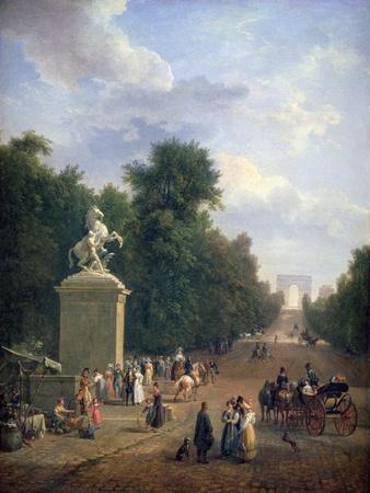 The Entrance to the Champs-Élysées, C1804-1836