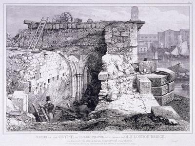 London Bridge, London, 1832