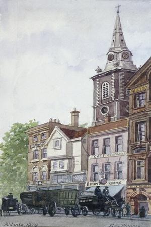 Aldgate High Street, London, 1870