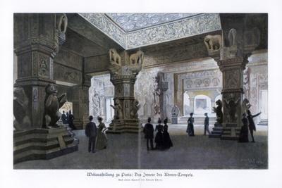 Khmer Temple, Paris World Exposition, 1889