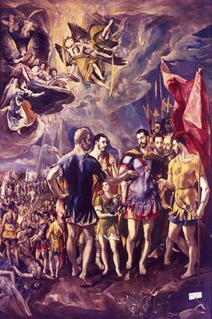 The Martyrdom of St Maurice, 286 (C1580-158)