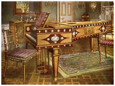 Late 18th Century Decorative Furniture, 1911-1912