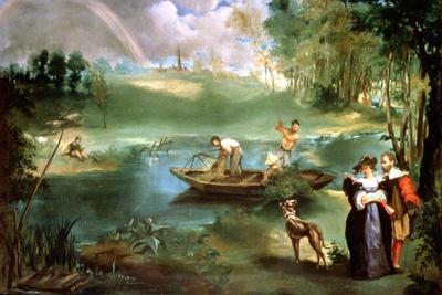 Fishing at St Ouen, 1860-1861