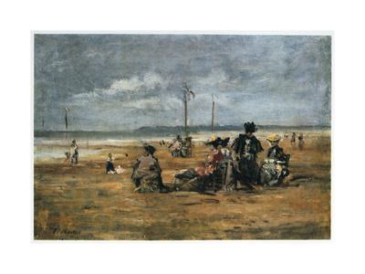On the Beach, 1880