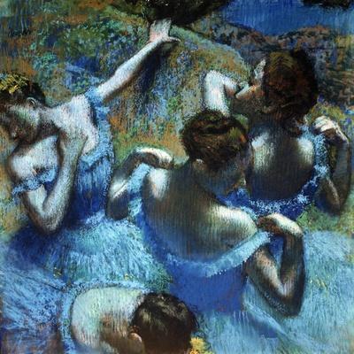 Dancers in Blue, C1898