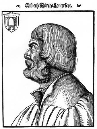 Profile Portrait of Albrecht Durer, 1527