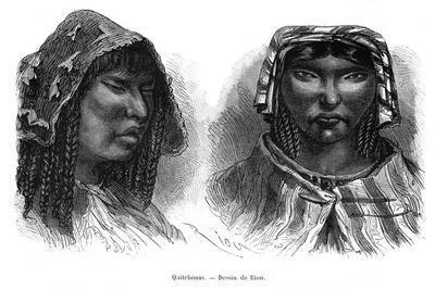 Quichua Indians, South America, 19th Century