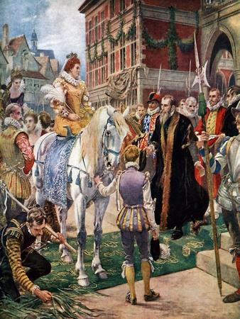 Queen Elizabeth Opening the Royal Exchange in 1570
