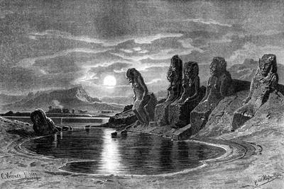 Sekhets with the Moonlight, Egypt, 1877