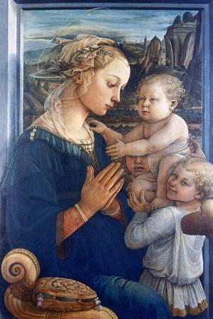 Madonna and Child with Angels, C1455