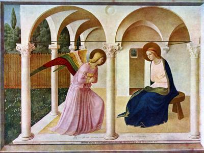 The Annunciation, C1438-1445, (C1900-192)