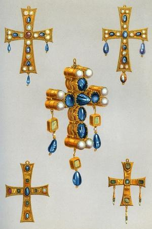 Gold Crosses of a King of the Goths, 7th Century