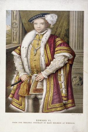 Edward VI, King of England, C1552