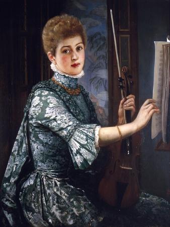 The Violinist, 1886
