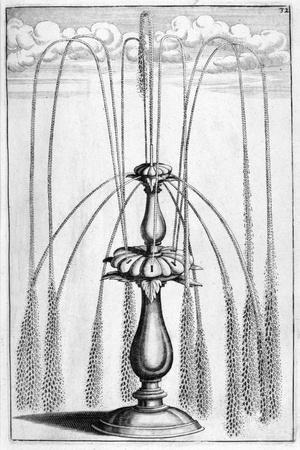 Ornamental Fountain Design, 1664