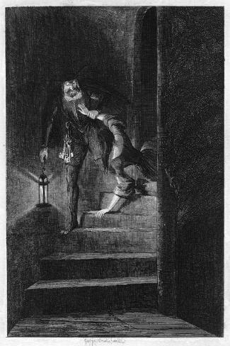 Lawrence Nightgall Dragging Cicely Down The Secret Stairs In The Salt  Tower, ...